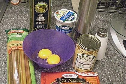 Koelkasts Spaghetti Carbonara 220