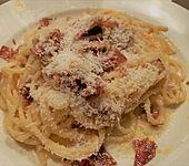 Koelkasts Spaghetti Carbonara (Bild)