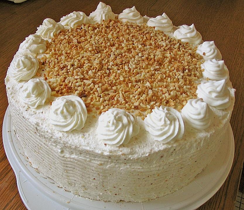 Nuss Sahne Torte Von Tantekaethe06 Chefkoch De