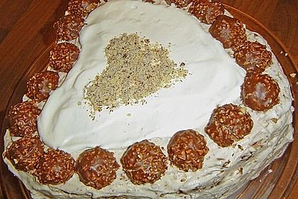 Rocher - Kirsch - Torte