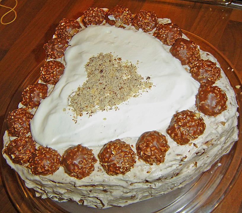 Rocher Kirsch Torte Von Gloeck81chen Chefkoch De