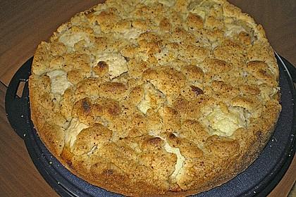 Maple Vanilla Apple Cake 1