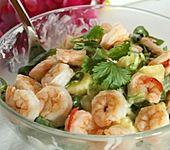 Garnelen - Mango Salat (Bild)