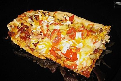 Pizza al pesto rosso 8