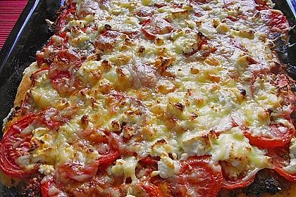 Pizza al pesto rosso 6