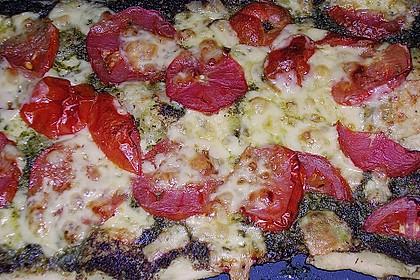 Pizza al pesto rosso 28