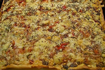 Pizza al pesto rosso 10