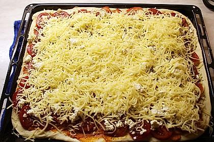 Pizza al pesto rosso 25