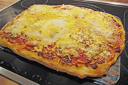 Pizza al pesto rosso 17