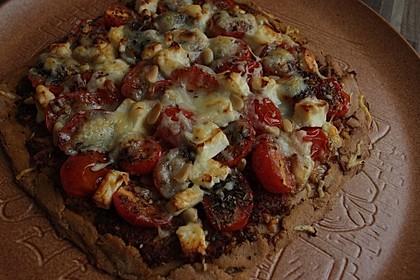 Pizza al pesto rosso 30
