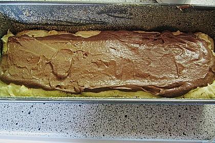 Rührkuchen - Palette (Marmorkuchen) 25