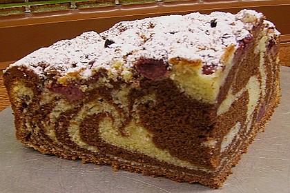 Rührkuchen - Palette (Marmorkuchen) 1