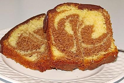 Rührkuchen - Palette (Marmorkuchen) 10