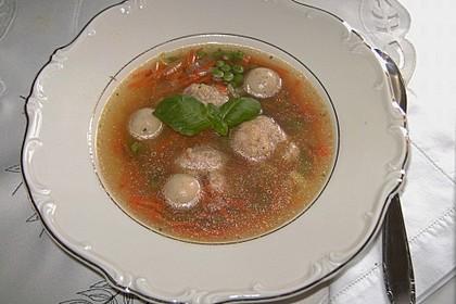 Bröselknödel Suppe 23