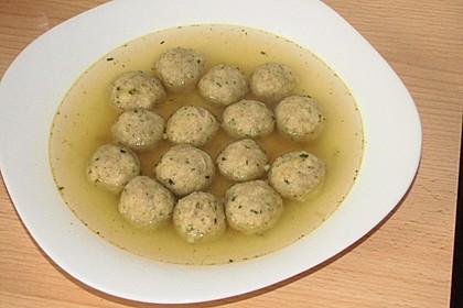 Bröselknödel Suppe 18