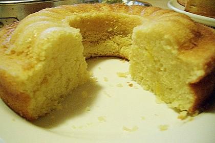Zitronenkuchen mit Sauerrahm (Bild)