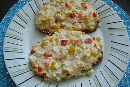 Schafskäse Toast 5