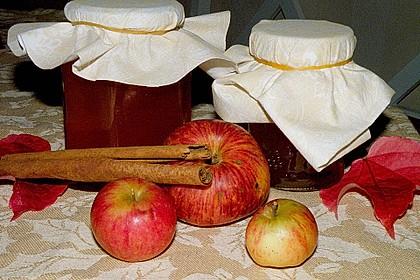 Apfelgelee, pur und kreativ