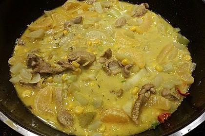 Exotisches Hähnchen - Curry mit Fenchel 1