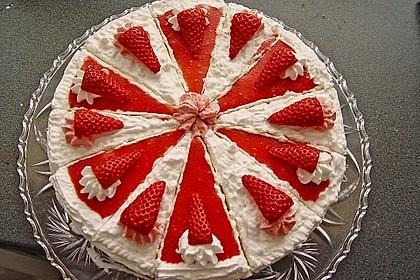 Philadelphia Torte Zitrus