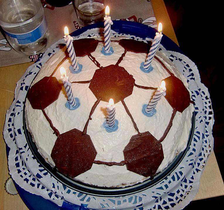 Philadelphia Torte Geburtstags Fussball Von Bgmikesch Chefkoch De