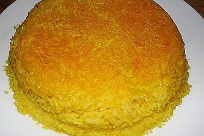 Persischer Reis - Tahdig 4