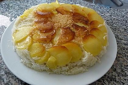 Persischer Reis - Tahdig 2