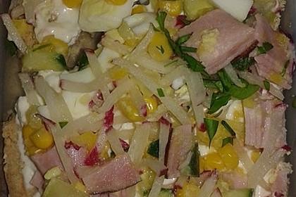 Kalte Gemüseblech - Tarte (Bild)