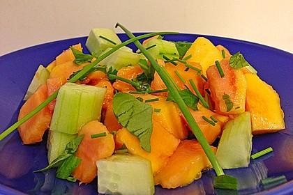Papaya - Gurken - Salat 2