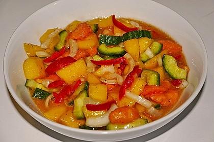 Papaya - Gurken - Salat 3