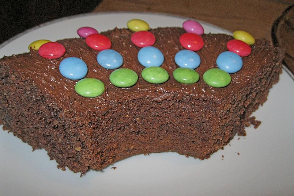 Schokoladen Nuss Kuchen Von Birgit66 Chefkoch De