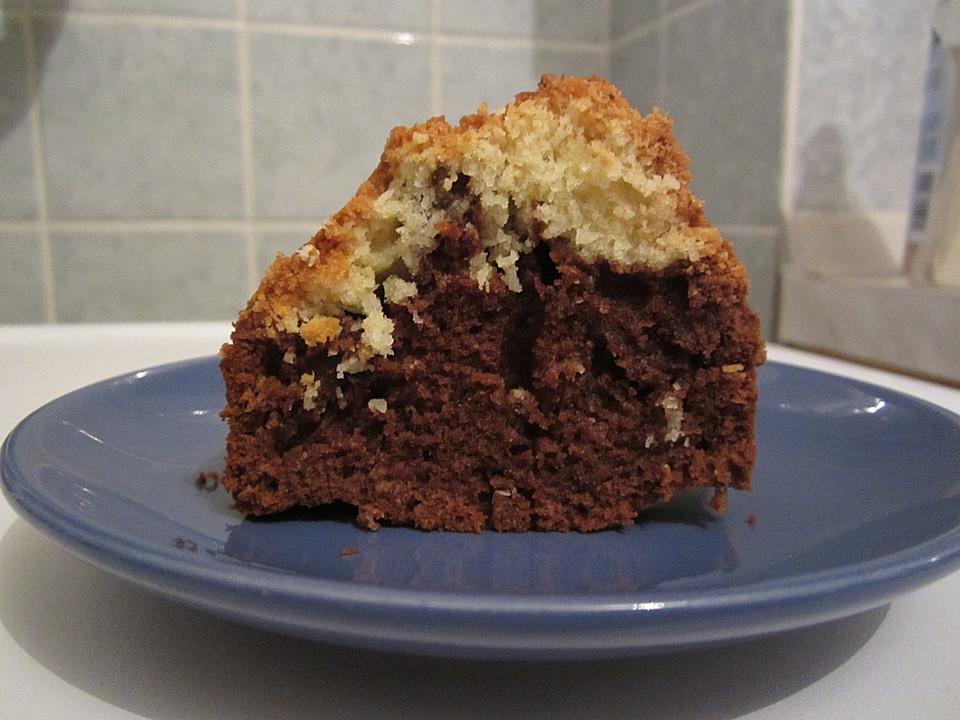 Feiner Kokos Kakao Kuchen Von Mima53 Chefkoch De
