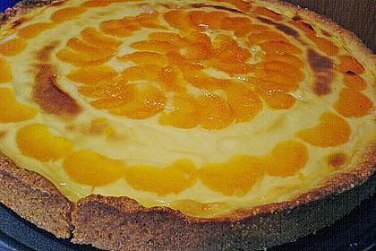 Schmand - Torte mit Mandarinen 1