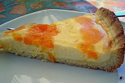 Schmand - Torte mit Mandarinen