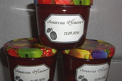 Amarena Pflaumen 7