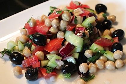 Kichererbsen-Oliven-Salat 3