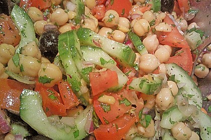 Kichererbsen-Oliven-Salat 26