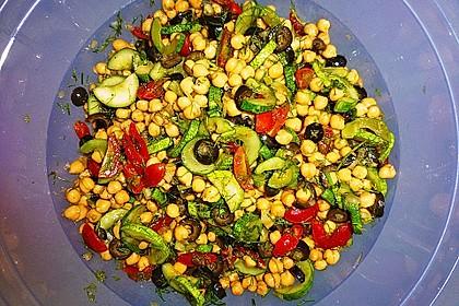 Kichererbsen-Oliven-Salat 10