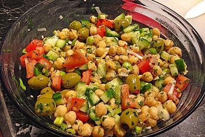 Kichererbsen-Oliven-Salat 4