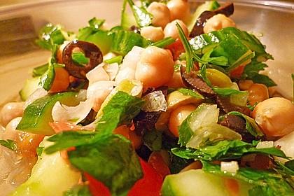 Kichererbsen-Oliven-Salat 8