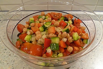 Kichererbsen-Oliven-Salat 14