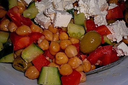Kichererbsen-Oliven-Salat 21