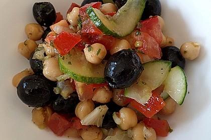 Kichererbsen-Oliven-Salat 2