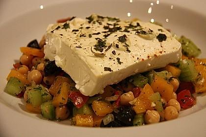 Kichererbsen-Oliven-Salat 11