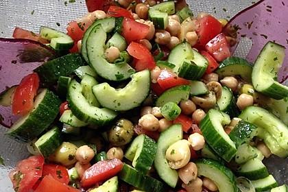 Kichererbsen-Oliven-Salat 9