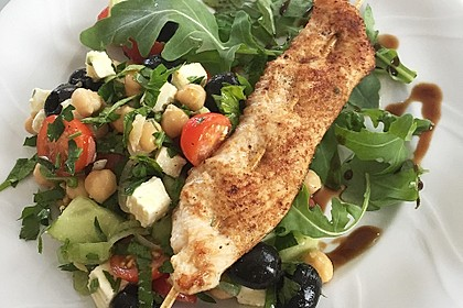 Kichererbsen-Oliven-Salat 7