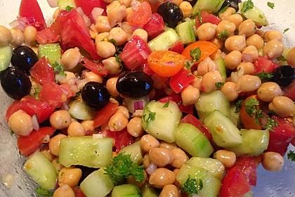 Kichererbsen-Oliven-Salat 12
