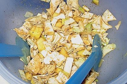 Weißkohl - Mango - Salat 1