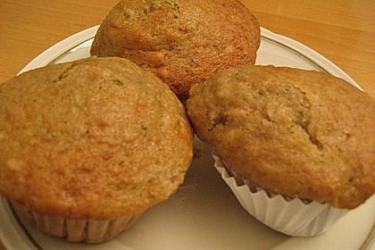 Zucchini Muffins mit saurer Sahne 35