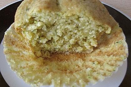 Zucchini Muffins mit saurer Sahne 39